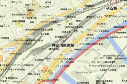 kanagawashinmachi_map