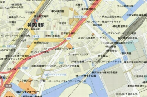 kinkocho_portside_map